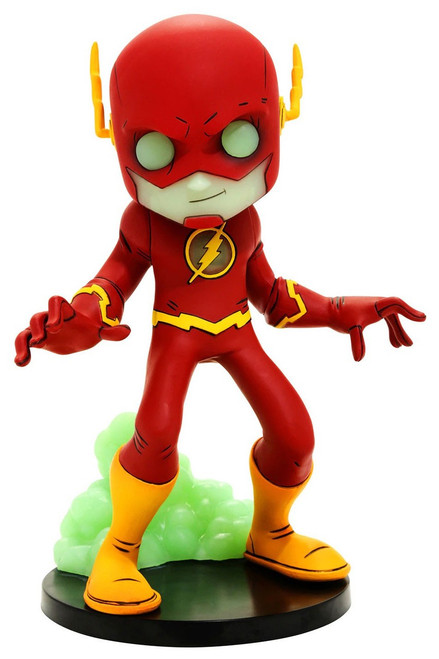 DC Artist Alley The Flash Exclusive 6.6-Inch PVC Collector Statue [Chris Uminga, Glow-in-the-Dark Variant]
