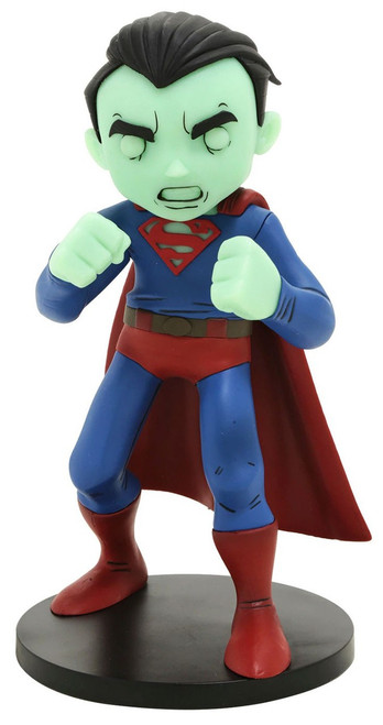 DC Artist Alley Superman Exclusive 6.4-Inch PVC Collector Statue [Chris Uminga, Glow-in-the-Dark]