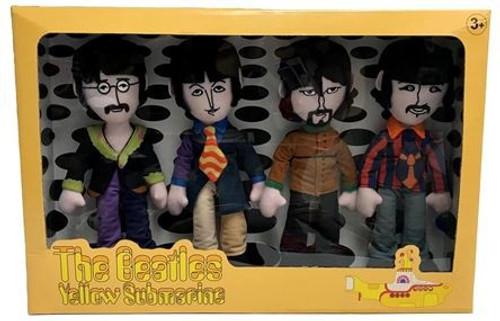 The Beatles Yellow Submarine Band Members Plush Box Set