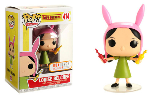 Funko Bob's Burgers POP! Animation Louise Belcher Exclusive Vinyl Figure #414 [Ketchup & Mustard]