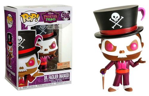 Funko The Princess & The Frog POP! Disney Dr. Facilier Exclusive Vinyl Figure #508 [Masked]