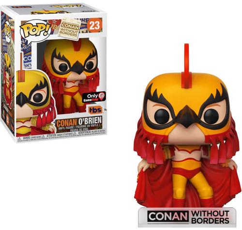 Funko POP! TV Conan O'Brien Exclusive Vinyl Figure #23 [Luchador]