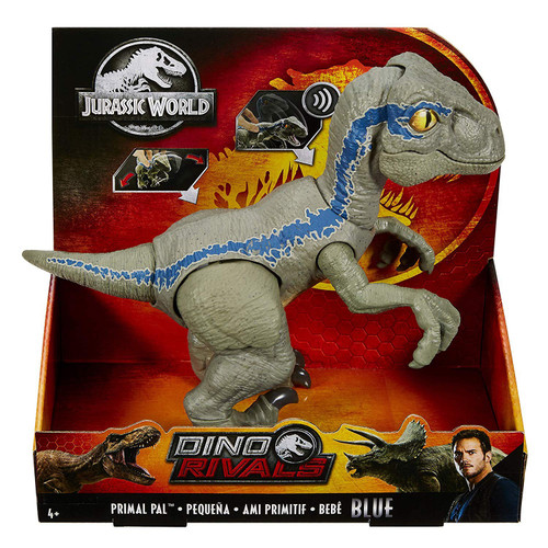 Jurassic World Primal Pal Blue Action Figure