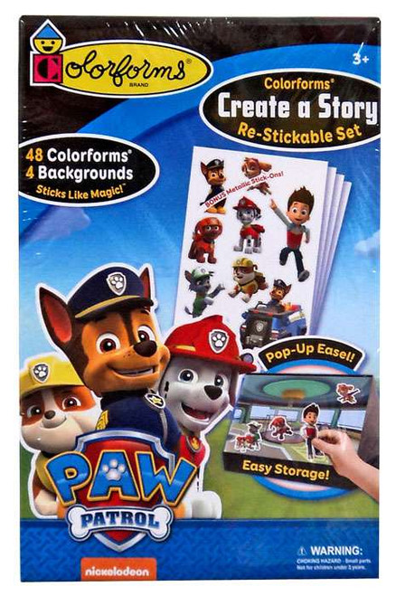 Colorforms Create a Story Paw Patrol Set