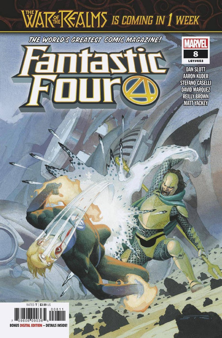 Marvel Comics Fantastic Four #8 Comic Book