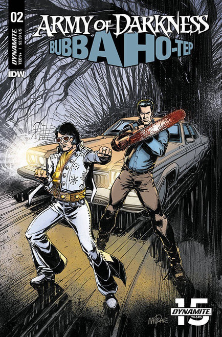 Dynamite Entertainment Army of Darkness Vs. Bubba Hotep #2 Comic Book [Mandrake Cover B]