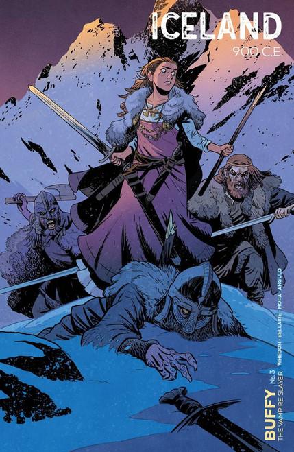 Boom Studios Buffy The Vampire Slayer #3 Comic Book [Cover C Smith]