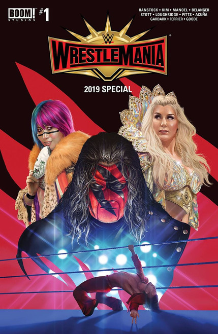 Boom Studios WWE Wrestlemania 2019 Special #1 Comic Book