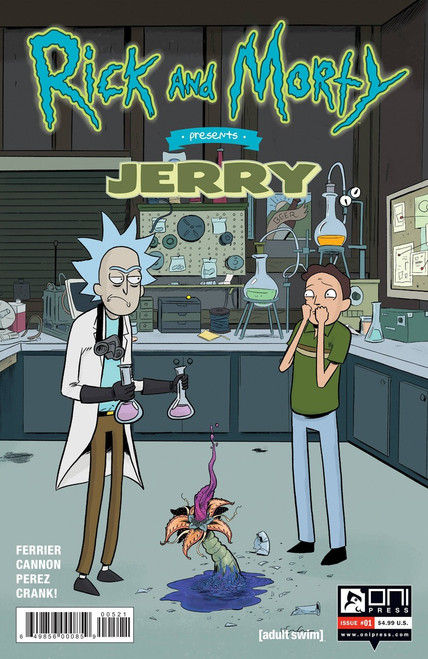 Oni Press Rick & Morty Presents Jerry #1 Comic Book [Grace Cover B]