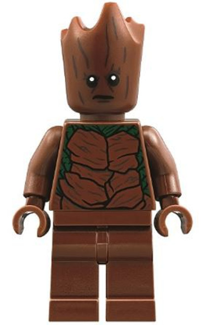 LEGO Marvel Super Heroes Avengers Infinity War Teen Groot Minifigure [Without Accessories Loose]