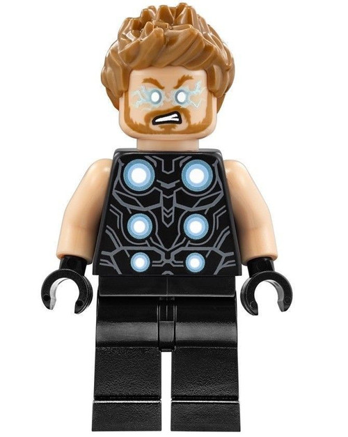 LEGO Marvel Super Heroes Avengers Infinity War Thor Minifigure [Loose]