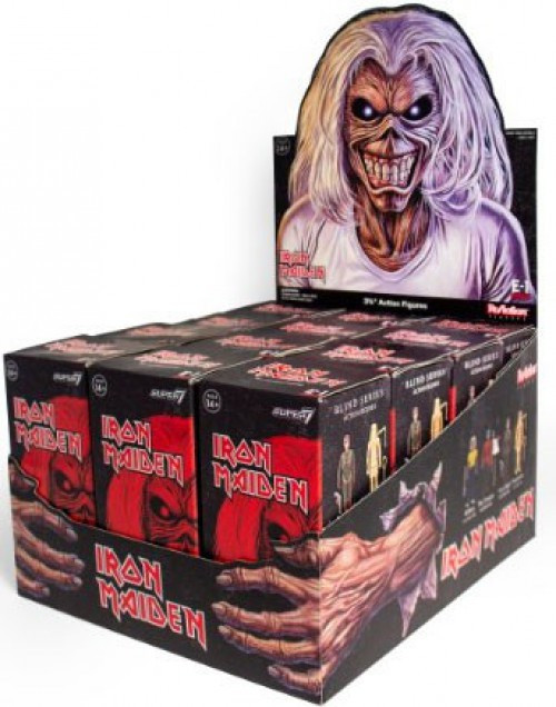 ReAction Iron Maiden 3.75-Inch Mystery Box [12 Packs]