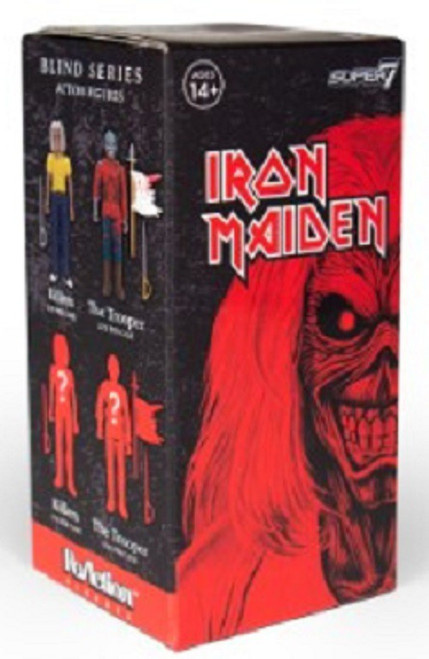 ReAction Iron Maiden 3.75-Inch Mystery Pack
