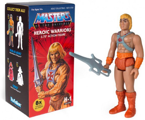ReAction Masters of the Universe Castle Grayskull Heroic Warriors 3.75-Inch Mystery Pack