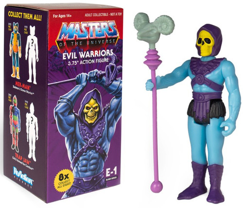ReAction Masters of the Universe Snake Mountain Evil Warriors 3.75-Inch Mystery Pack