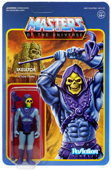ReAction Masters of the Universe Skeletor Action Figure [Wave 1]