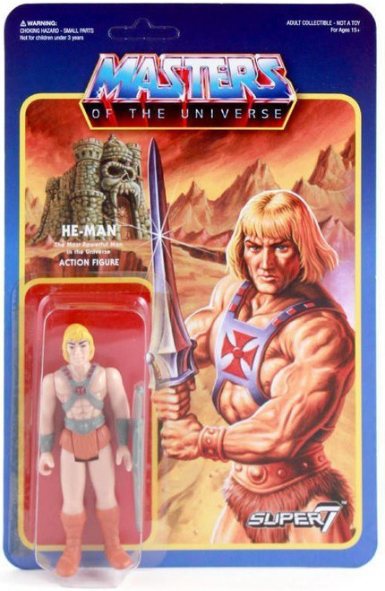 ReAction Masters of the Universe He-Man Action Figure [Wave 1]