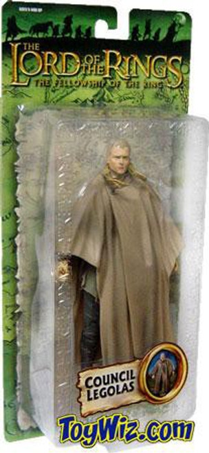 The Lord of the Rings The Fellowship of the Ring Collectors Series Legolas Greenleaf Action Figure [Council, Damaged Package]