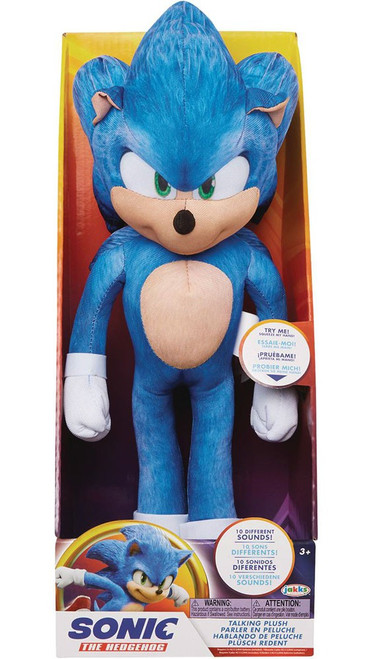 Sonic The Hedgehog Movie Sonic 13-Inch Talking Figure