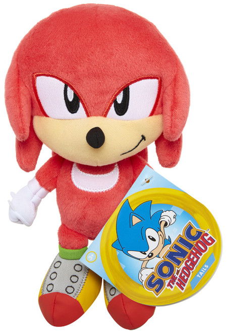 Sonic The Hedgehog Knuckles 7-Inch Plush