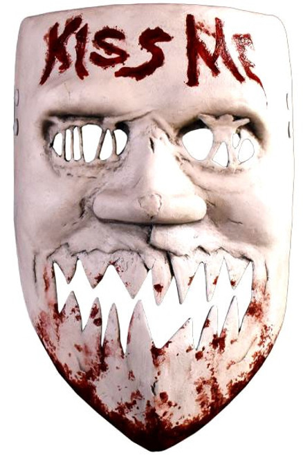 The Purge: Election Year Kiss Me Costume Prop Mask