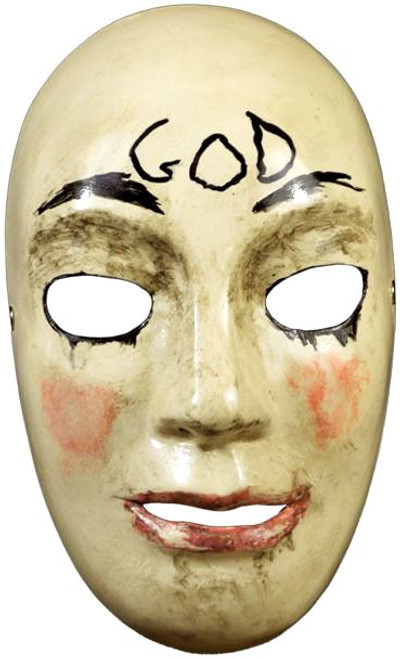 The Purge: Anarchy God Costume Prop Mask