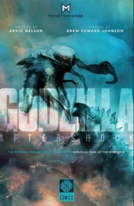 Legendary Comics Godzilla Aftershock Hard Cover Comic Book