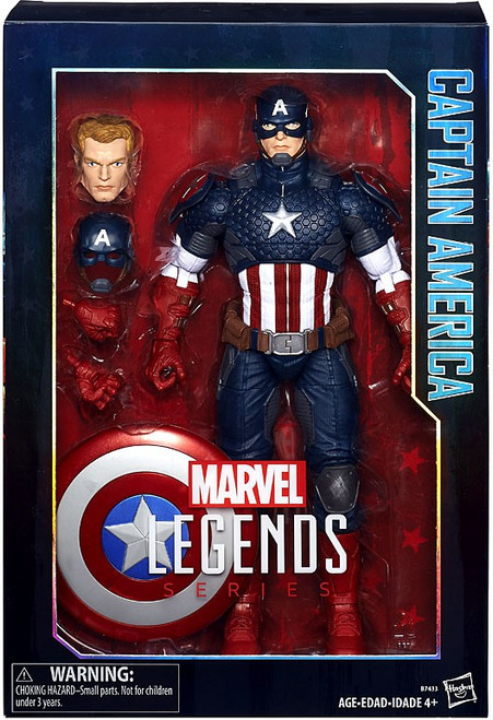 Marvel Legends Captain America Deluxe Collector Action Figure [Damaged Package]