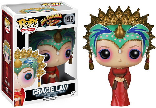 Funko Big Trouble in Little China POP! Movies Gracie Law Vinyl Figure #152 [Damaged Package]