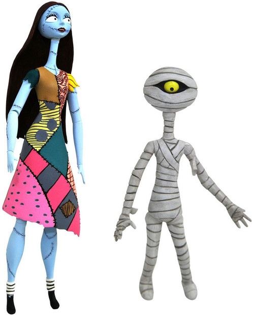 Nightmare Before Christmas Select Series 6 Sally & Mummy Boy Action Figure 2-Pack [Damaged Package]