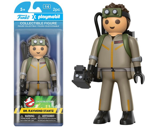 Ghostbusters Funko Playmobil Dr. Raymond Stantz Action Figure [Damaged Package]