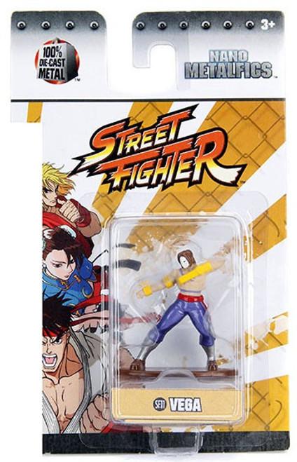 Street Fighter Nano Metalfigs Vega 1.5-Inch Diecast Figure SF11 [Damaged Package]