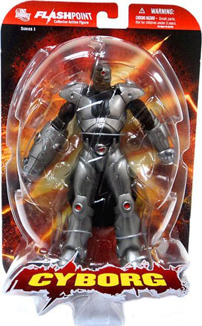 DC Flashpoint Series 1 Cyborg Action Figure [Damaged Package]