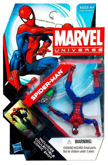 Marvel Universe Series 18 Spider-Man Action Figure #7 [Peter Parker, Damaged Package]