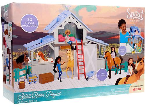 Spirit Riding Free Classic Series Spirit Barn Playset [Damaged Package]