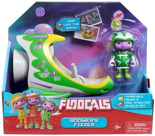 Floogals Boomer's Fizzer Vehicle & Figure [Damaged Package]