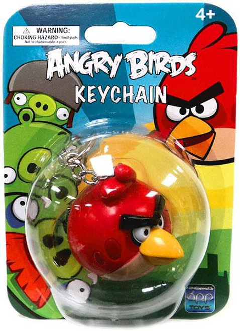 Angry Birds Red Bird Keychain [Damaged Package]