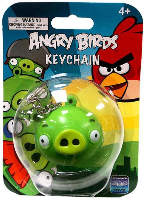 Angry Birds Pig Keychain [Damaged Package]
