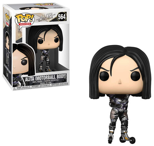 Funko Alita Battle Angel POP! Movies Alita (Motorball Body) Vinyl Figure #564 [Damaged Package]