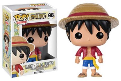 Funko One Piece POP! Anime Monkey. D. Luffy Vinyl Figure #98 [Damaged Package]