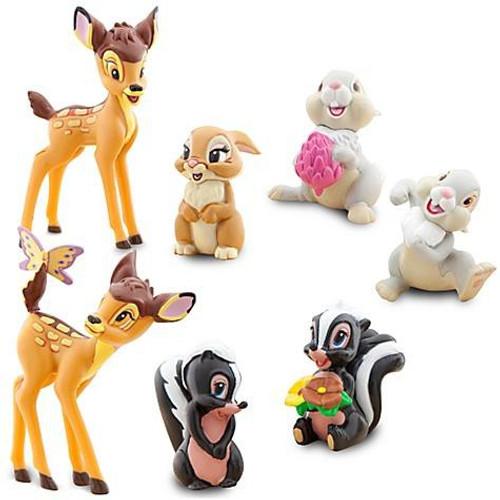 Disney Bambi Figurine Set Exclusive [Damaged Package]