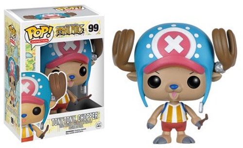 Funko One Piece POP! Anime Tony Tony Chopper Vinyl Figure #99 [Damaged Package]
