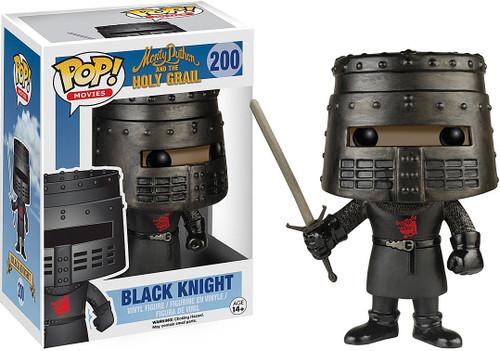 Funko Monty Python The Holy Grail POP! Movies Black Knight Vinyl Figure #200 [Damaged Package]