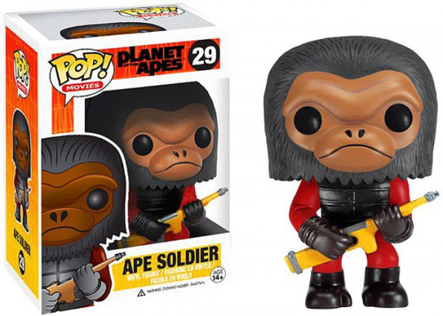 Funko Planet of the Apes POP! Movies Ape Soldier Vinyl Figure #29 [Damaged Package]