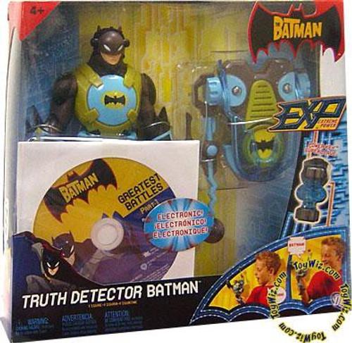 The Batman EXP Extreme Power Batman Action Figure [Truth Detector, Damaged Package]