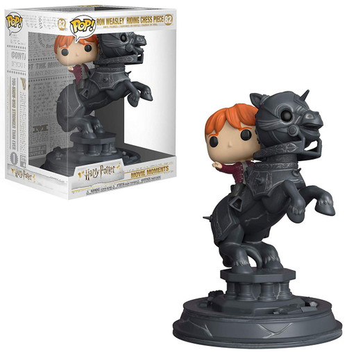 Funko Harry Potter POP! TV Ron Riding Chess Piece Vinyl Figure #82 [Movie Moments, Damaged Package]