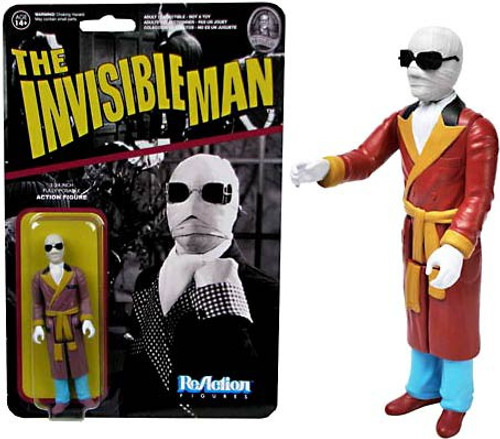 Funko Universal Monsters ReAction Invisible Man Action Figure [Damaged Package]