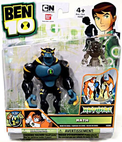 Ben 10 Ultimate Alien Rath Action Figure [Haywire, Damaged Package]