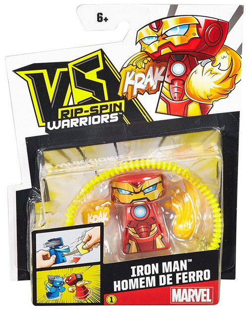 VS Rip-Spin Warriors Marvel Iron Man Single Pack [Damaged Package]