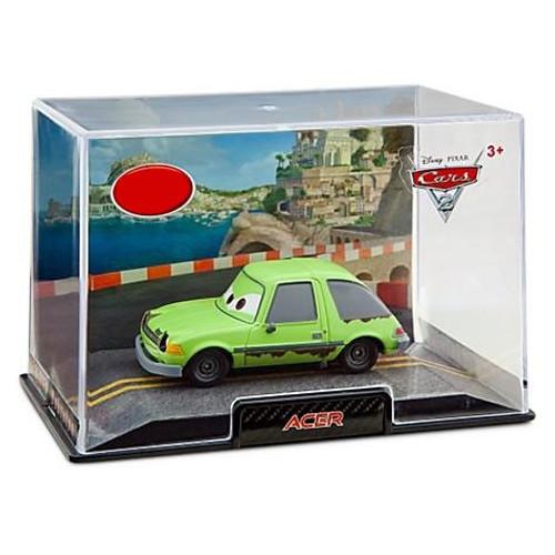 Disney / Pixar Cars Cars 2 1:43 Collectors Case Acer Exclusive Diecast Car [Damaged Package]